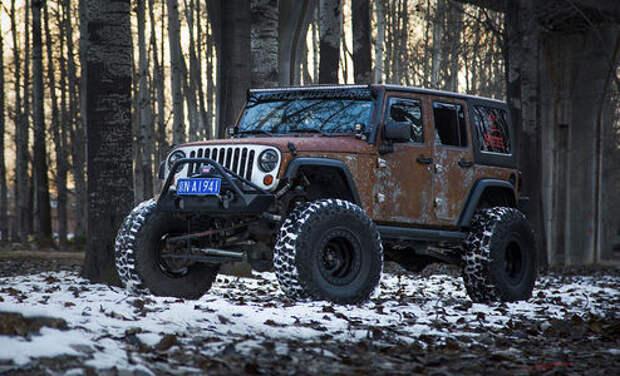 Когда коррозия – мечта: «ржавый» Jeep Wrangler от Vilner