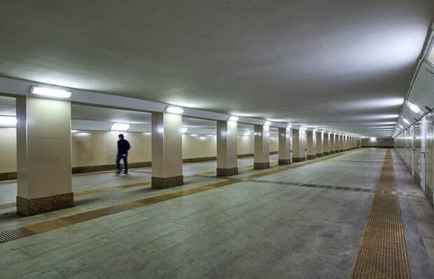 Кто отвечает за уборку в переходе на Балтийскую? Фото с сайта mos.ru