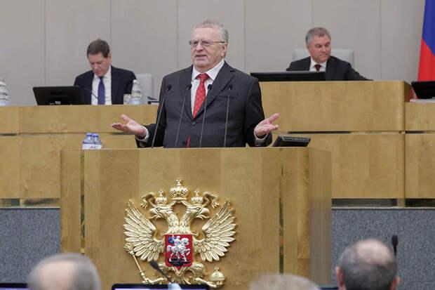 Жириновский предложил свой вариант новогодних каникул в 2021 году