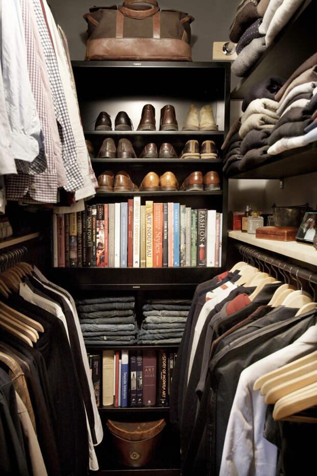 Самое сложно в создании гардеробной - правильно распределить пространство