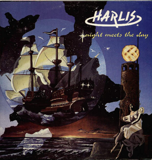 Harlis – Night Meets The Day 1977 год.