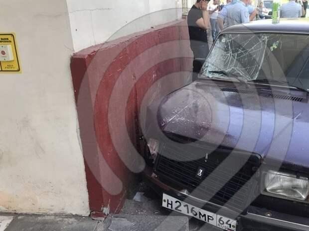 Появилось видео со студентом без прав, сбившим пешеходов в Москве