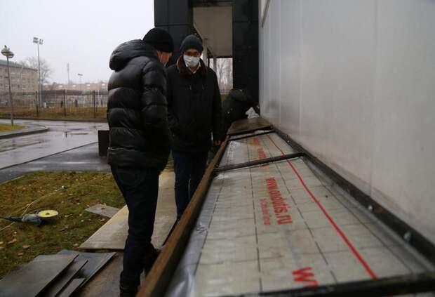 В здании спорткомплекса «Торпедо» в Ижевске начался капремонт