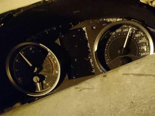 В Башкирии на федеральной трассе столкнулись сразу шесть автомобилей