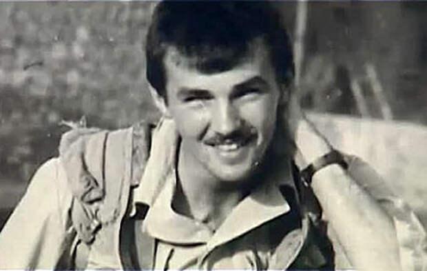 Олег Якута в молодости