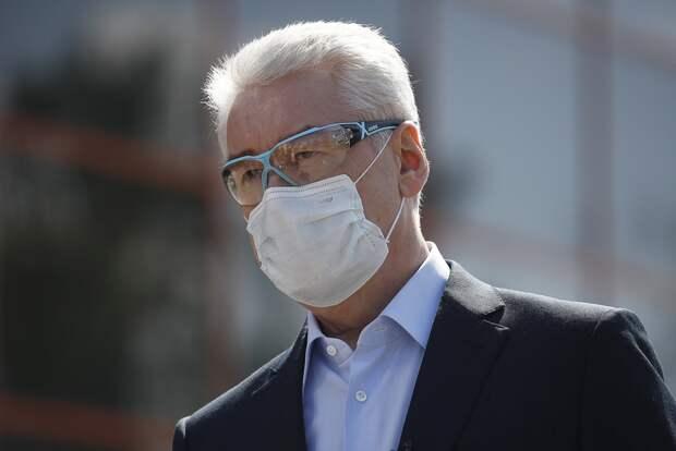 Собянин: иммунитет от COVID-19 получили около половины москвичей