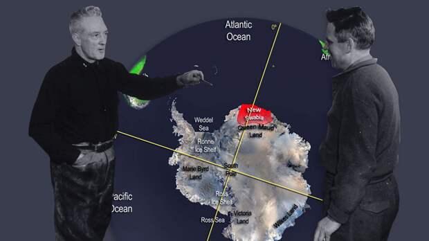 """Зачем США бомбили Антарктиду ядерными бомбами? Операции """"Аргус"""" и """"Высокий прыжок"""""""