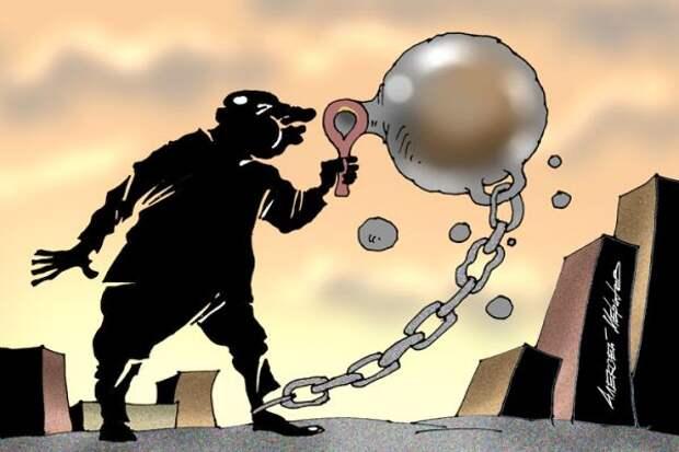 Эксперты: Заширмой статистики создан кредитный пузырь— унаселения рекордные долги