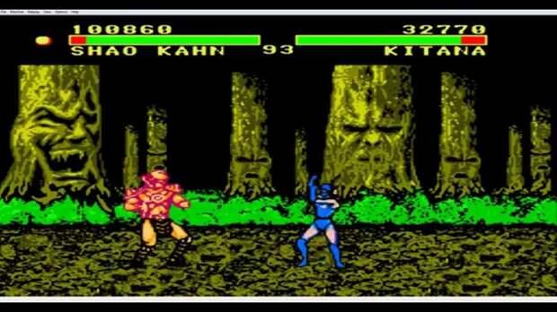 Mortal Kombat 2 Special. 90-е годы, Денди 8 бит, любимые игры