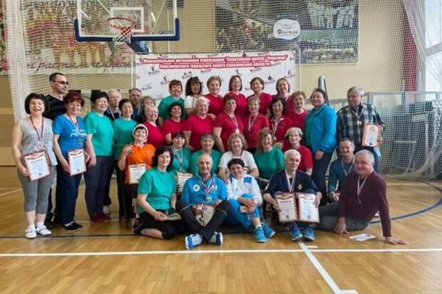 Корсаковские пенсионеры приняли участие в Спартакиаде России