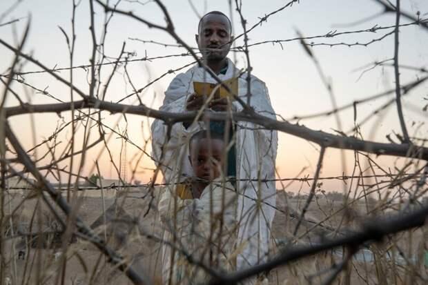 Кадры из повседневной африканской жизни