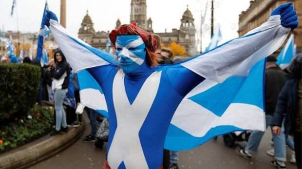 Евросоюз поможет Шотландии в борьбе за независимость