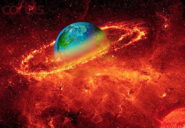 Уникальное наблюдение: мощным ударом уэкзопланеты снесло атмосферу