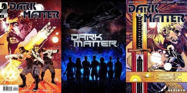 """Любите крутую фантастику? У нас новый бесплатный сериал на выходные. Смотри все сезоны """"Темной материи"""""""
