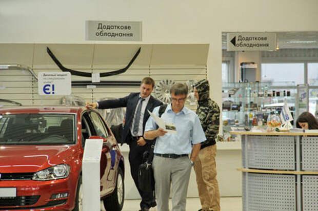 Украинский рынок новых легковых автомобилей в январе вырос на 51%