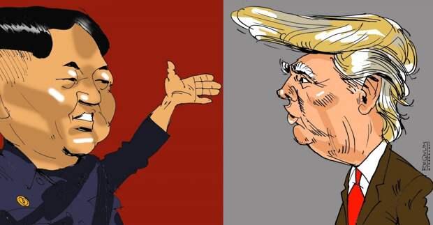 Санкции США против КНДР, где главной остаётся всё равно Россия