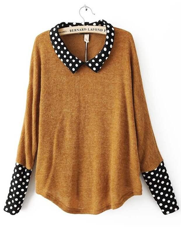 Sweater refashion idea