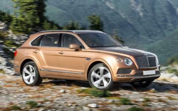Россия почти догнала США по количеству бракованных Bentley Bentayga