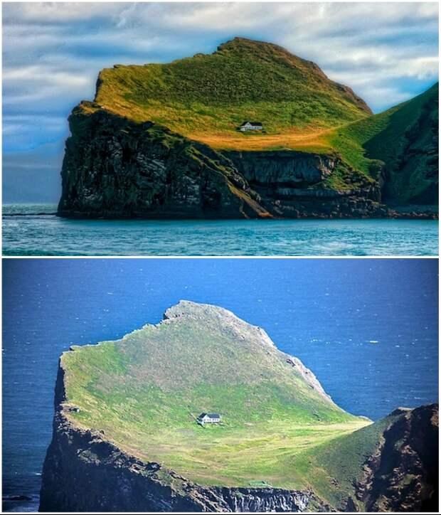 Несмотря на труднодоступность места, свежие фото появляются с завидной регулярностью (о.Эдлидаэй, Исландия).   Фото: designerdreamhomes.ru.