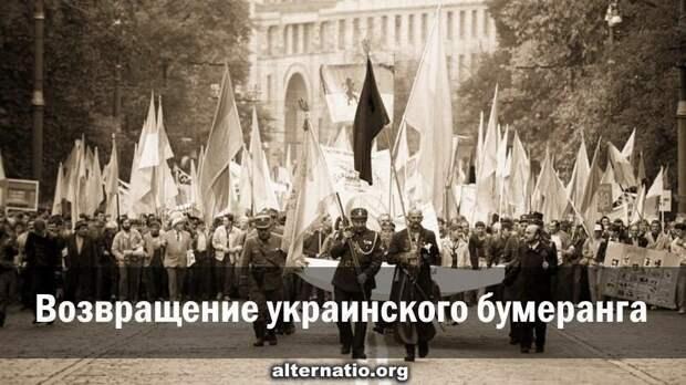 Возвращение украинского бумеранга: тяжёлая карма русофобов