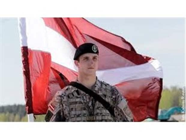 Латвия готовится сражаться с Россией