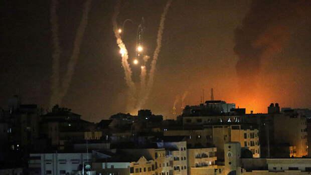 Израильская армия заявила о запуске 90 ракет со стороны сектора Газа по Израилю за ночь