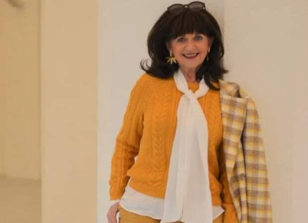 Как быть яркой, а не скучной после 50: деловые образы на весну для женщин элегантного возраста