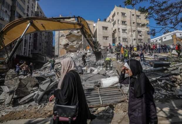 Число жертв ударов Израиля вГазе стремительно растëт