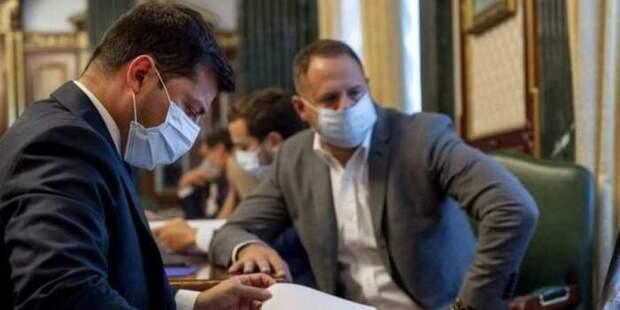 Монтян: Зеленский с окружением симулируют ковид в больнице, чтобы не признавать полную утрату контроля над страной