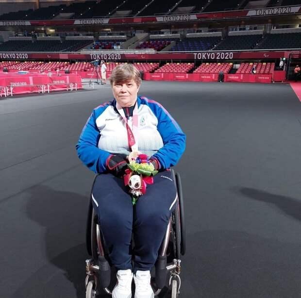 Теннисистка из Воткинска Надежда Пушпашева завершила выступление на Паралимпиаде в Токио