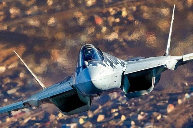 К истребителю пятого поколения Су-57 применили технологию беспилотного режима