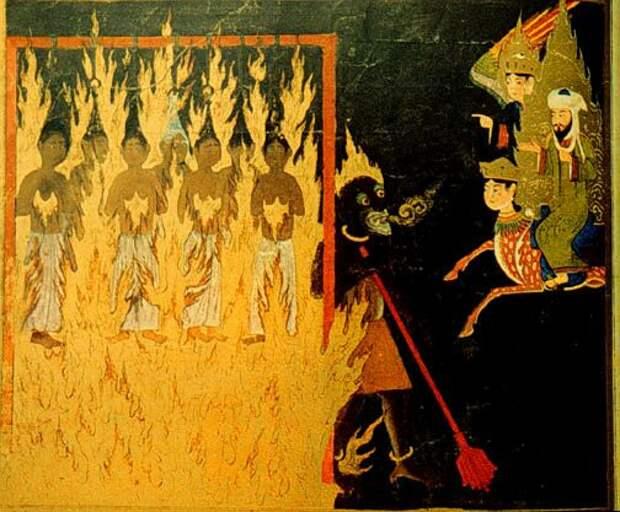 Пророк Мухаммад в аду видит наказания бесстыжих женщин