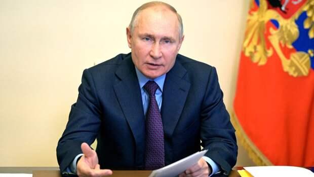 Путин рассказал о перевооружении ракетных войск России