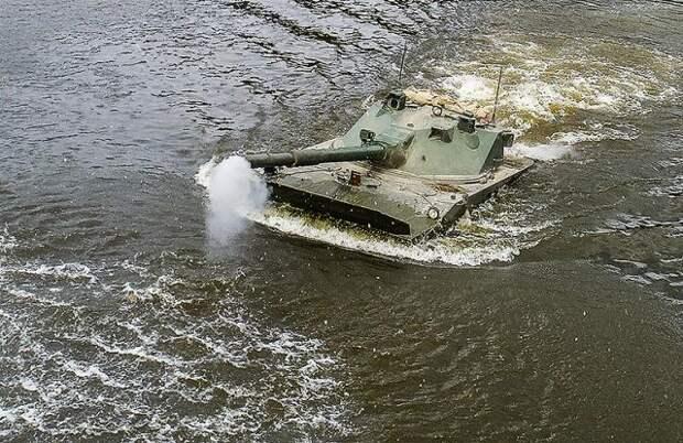 Десант получит легкие плавающие танки