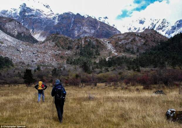 Гималаи в Бутане
