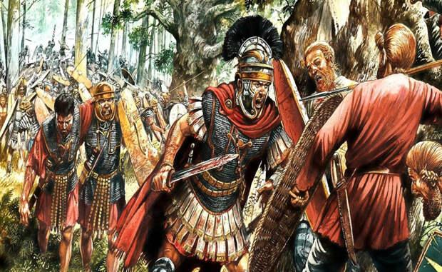 Благословение римлян 5 сентября 394 года н.э. история Римской империи могла бы закончиться. Огромная армия варваров уже разгромила несколько легионов: предстояла последняя стычка с правителем Восточной Римской империи, Феодосием I. В ход истории вмешалась сильнейшая буря. Шторм выдирал оружие из рук варваров и буквально сдувал их с поля боя. Благодаря этим превратностям природы Феодосий стал последним человеком, сумевшим объединить восточную и западную империи и обеспечить окончательную победу христианства в Риме.