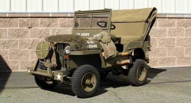 На аукционе продают редкий карликовый Willys с 13-сильным ДВС Honda