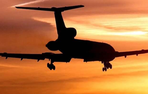 Российский Ту-154 вызвал восторг в Англии