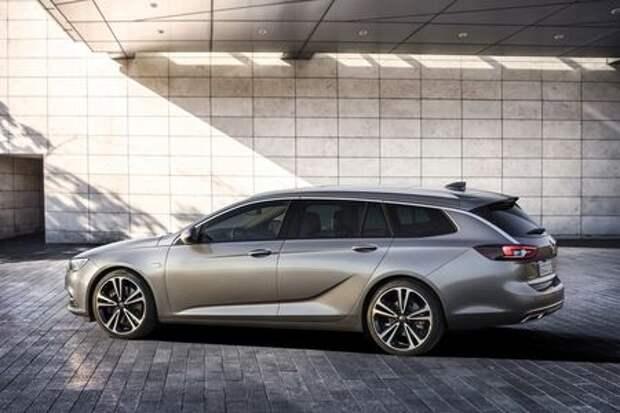Великая «дразнилка»: кросс-универсал Opel Insignia Country Tourer готовится к старту