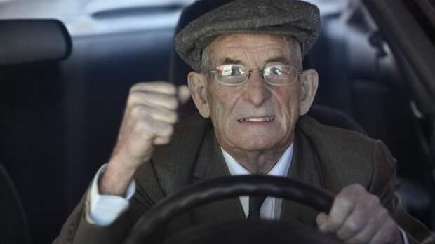 Пенсионеров будут массово лишать водительских прав