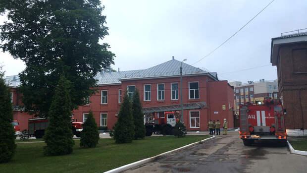 В Рязани задержана главврач больницы, где произошел пожар