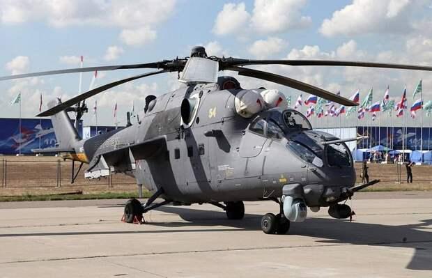 Первая тройка наиболее скоростных современных боевых вертолётов