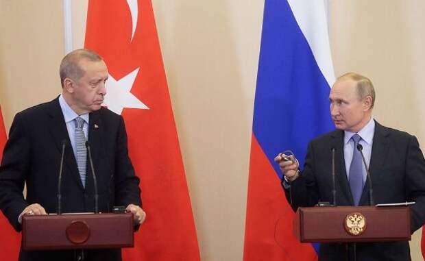 Путин посвятил Эрдогана восновные итоги трёхсторонней встречи поКарабаху