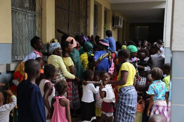 Продовольственная программа ООН не может обеспечить пищей беженцев в Мозамбике