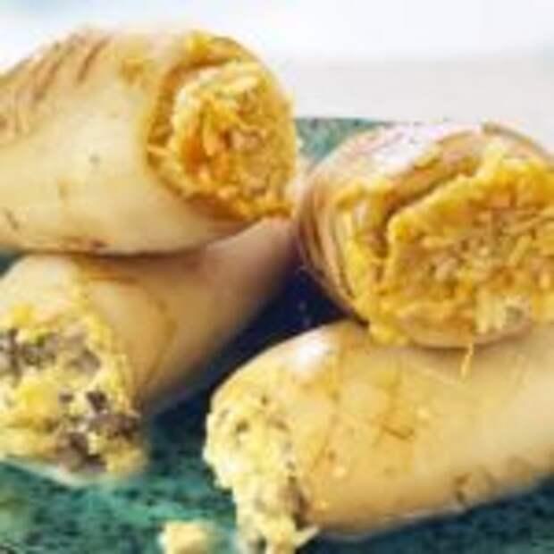 Кальмары фаршированные: две вкусные начинки