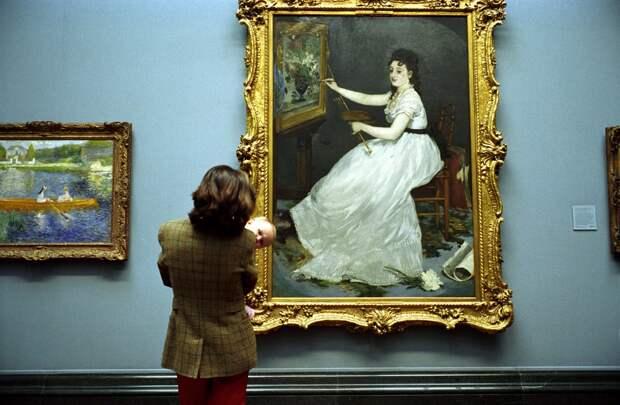 Лондонская национальная галерея. Фотограф Ник Тёрпин