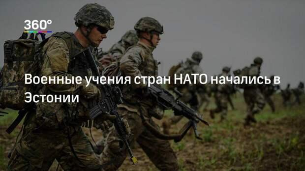 Военные учения стран НАТО начались в Эстонии