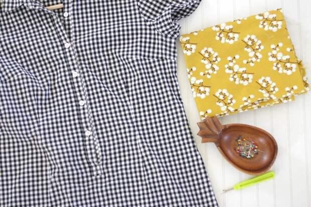 Как добавить карман в шве (Diy)