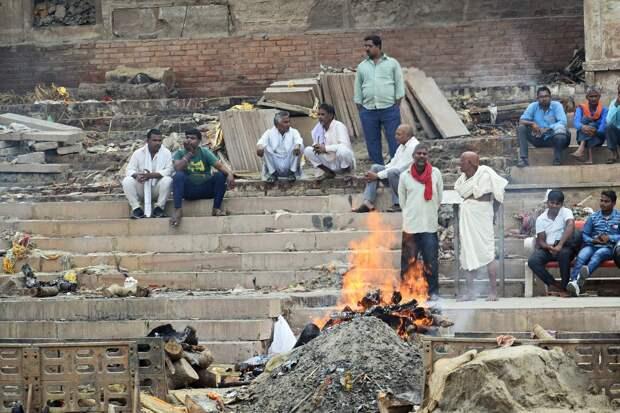 Десятки тел жертв COVID-19 обнаружили в индийской реке Ганге