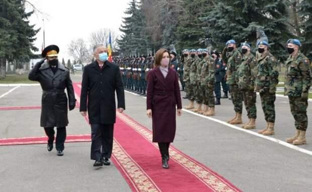 Санду: Участие вKFOR вКосово повышает доверие партнеров Молдавии